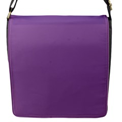 Another Purple Flap Messenger Bag (s)