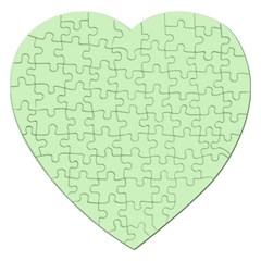 Baby Green Jigsaw Puzzle (heart)