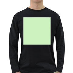 Baby Green Long Sleeve Dark T Shirts
