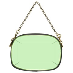 Baby Green Chain Purses (two Sides)