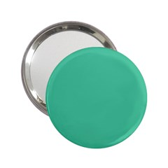 Seafoamy Green 2 25  Handbag Mirrors