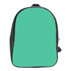 Seafoamy Green School Bag (large)