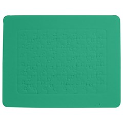 Seafoamy Green Jigsaw Puzzle Photo Stand (rectangular)