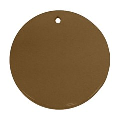 Brownish Ornament (round)