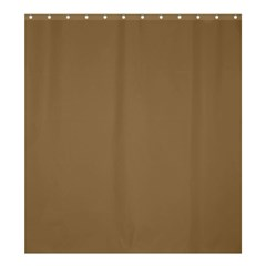 Brownish Shower Curtain 66  X 72  (large)