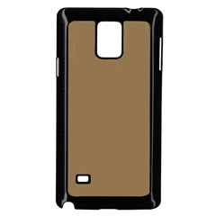 Brownish Samsung Galaxy Note 4 Case (black)