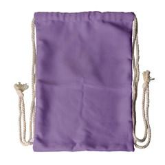 Grape Light Drawstring Bag (large)