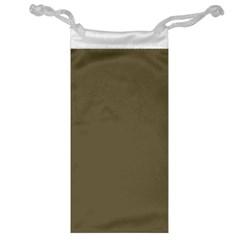 Rainy Brown Jewelry Bag