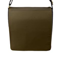Rainy Brown Flap Messenger Bag (l)