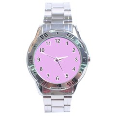 Baby Purple Stainless Steel Analogue Watch