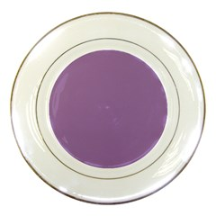 Uva Purple Porcelain Plates
