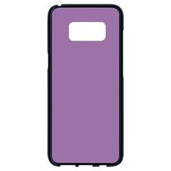 Uva Purple Samsung Galaxy S8 Black Seamless Case