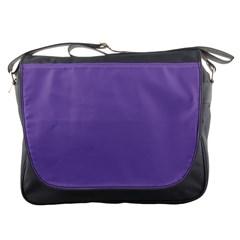 Purple Star Messenger Bags