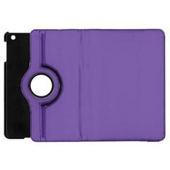 Purple Star Apple Ipad Mini Flip 360 Case