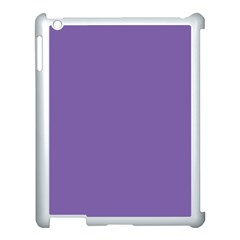 Purple Star Apple Ipad 3/4 Case (white)