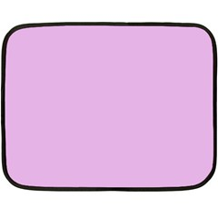 Pink Flowers Fleece Blanket (mini)