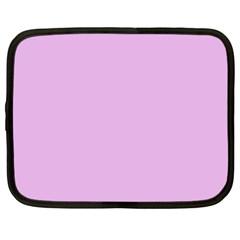 Pink Flowers Netbook Case (xl)