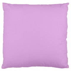 Pink Flowers Large Cushion Case (one Side)