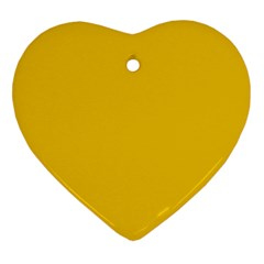 Cheesy Heart Ornament (two Sides)