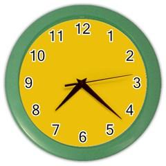 Cheesy Color Wall Clocks