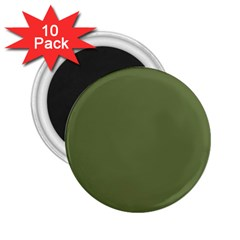 Earth Green 2 25  Magnets (10 Pack)