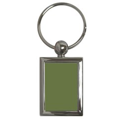Earth Green Key Chains (rectangle)
