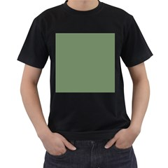 Army Green Men s T Shirt (black) (two Sided)