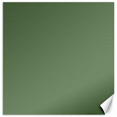 Army Green Canvas 12  X 12