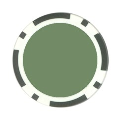 Army Green Poker Chip Card Guard (10 Pack)