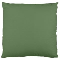 Army Green Large Cushion Case (two Sides)