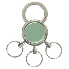 Mossy Green 3 Ring Key Chains