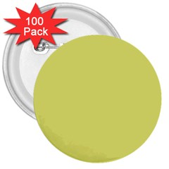 Avocado 3  Buttons (100 Pack)