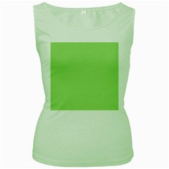 Pistachio Taste Women s Green Tank Top