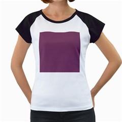 Medium Grape Women s Cap Sleeve T