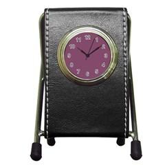 Medium Grape Pen Holder Desk Clocks