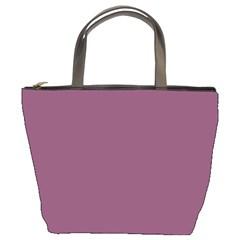 Medium Grape Bucket Bags