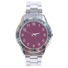Medium Grape Stainless Steel Analogue Watch
