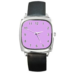 Purple Whim Square Metal Watch