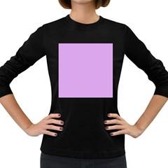 Purple Whim Women s Long Sleeve Dark T Shirts