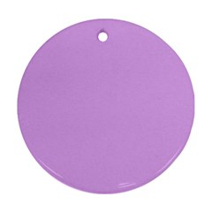 Purple Whim Round Ornament (two Sides)