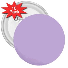 Baby Lilac 3  Buttons (10 Pack)