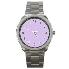 Baby Lilac Sport Metal Watch