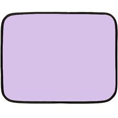 Baby Lilac Double Sided Fleece Blanket (mini)