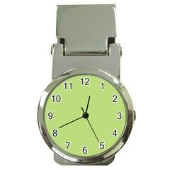 Grassy Green Money Clip Watches