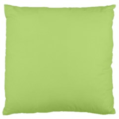 Grassy Green Standard Flano Cushion Case (two Sides)