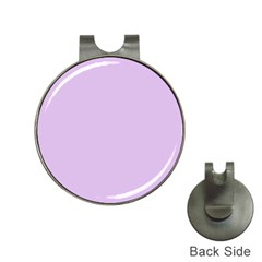 Lilac Morning Hat Clips With Golf Markers
