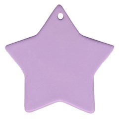 Lilac Morning Star Ornament (two Sides)