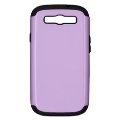 Lilac Morning Samsung Galaxy S Iii Hardshell Case (pc+silicone)