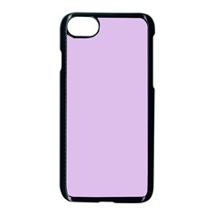Lilac Morning Apple Iphone 8 Seamless Case (black)