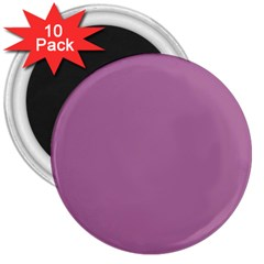 Silly Purple 3  Magnets (10 Pack)
